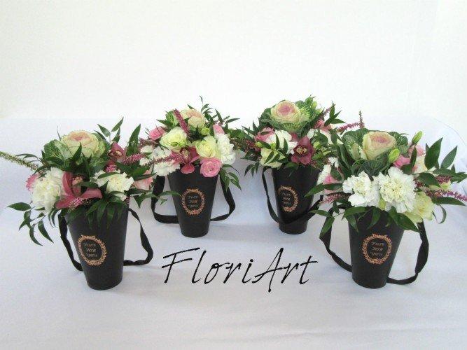 flower boxy na różne okazje z ozdobną kapustą od FloriArt