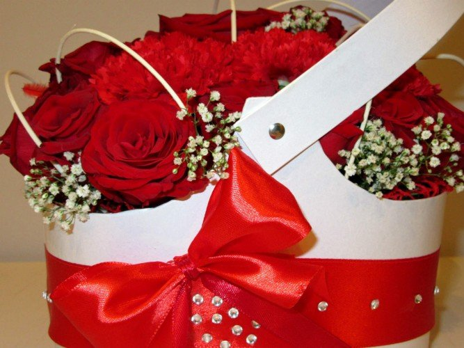 flower-box kosz kwiatowy Kłobuck