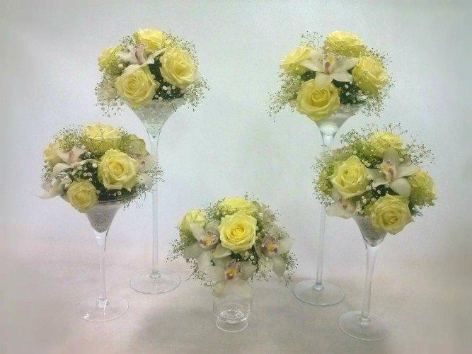kwiaty na stół dekorowanie sali okolice Czestochowy
