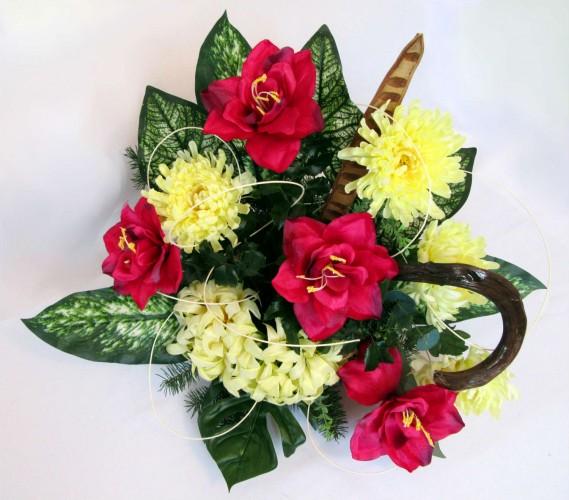 Kwiaty sztuczne chryzantema i storczyk Częstochowa