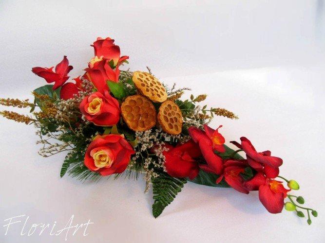 kwiaty sztuczne na wszystkich świętych Janow