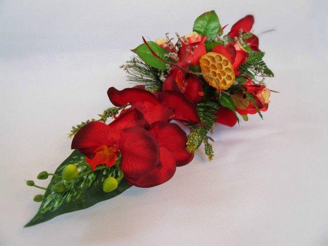 stroik czerwony storczyk na groby Janów i okolice