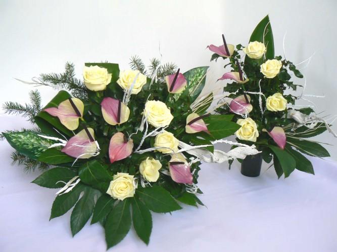 wiązanki z żywych kwiatów Częstochowa