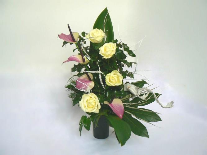 Żywe kwiaty do wazonu na grób okolice Częstochowy