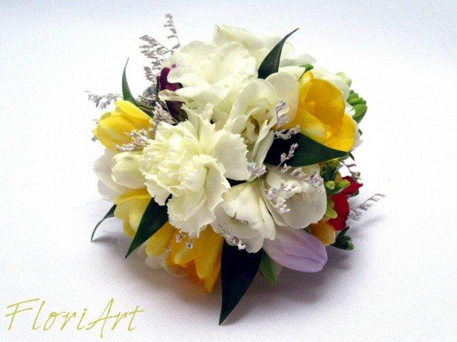 biżuteria floralna FloriArt