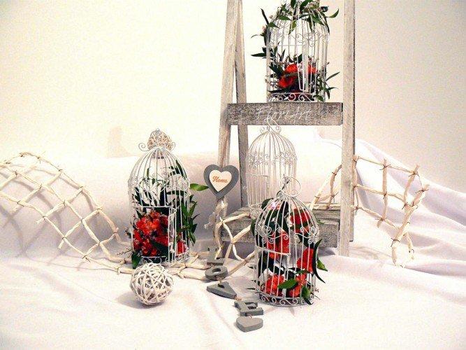 Kwiaty w klatkach kwiaciarnia Częstochowa