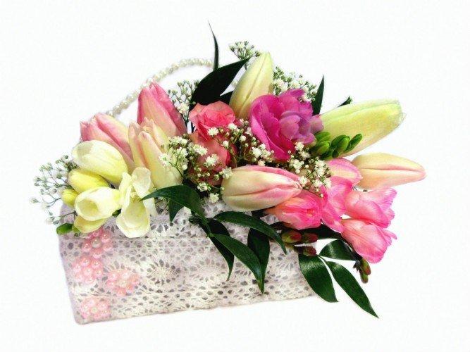Flowerbox damska torebka