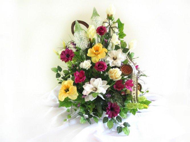 Wiązanki ze sztucznych kwiatów Częstochowa