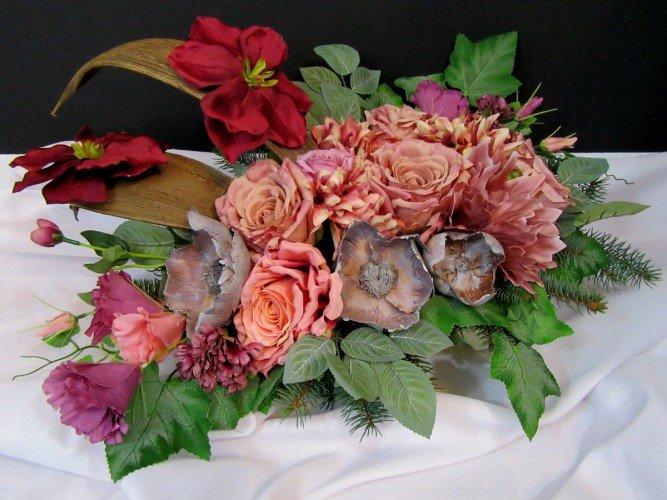 wiązanki ze sztucznych kwiatów Rudniki