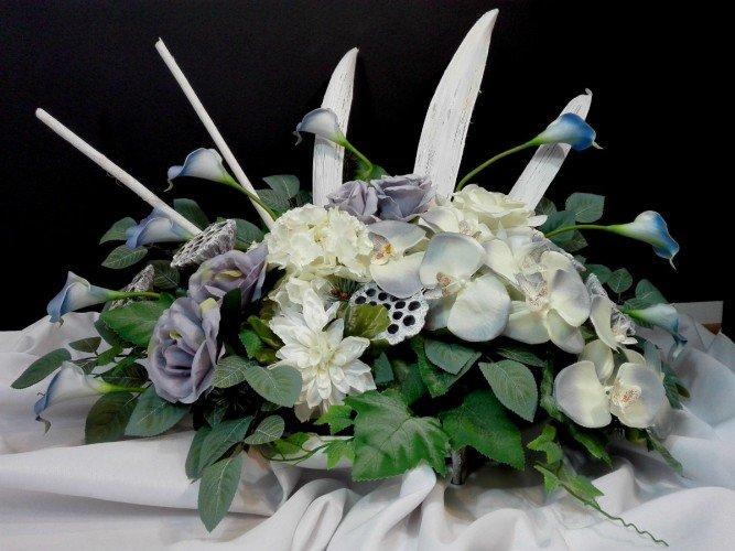 kompozycja kwiatowa na grób FloriArt