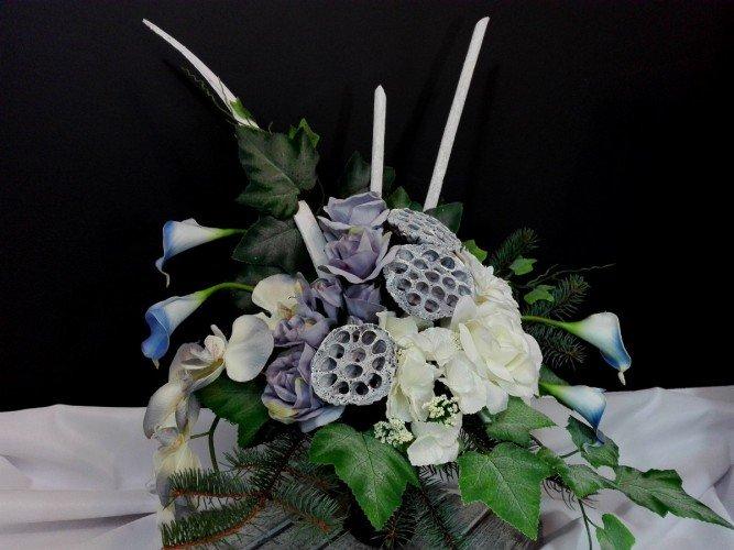 kompozycja do wazonu na grób Częstochowa