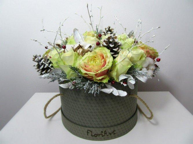 Flowerbox zimowy FloriArt