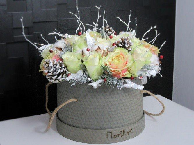 Flowerboxy zimowe Częstochowa