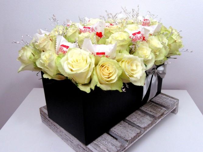 Flowerbox na prezent