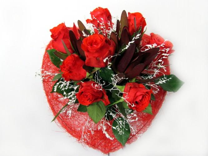 bukiet dla zakochanych FloriArt