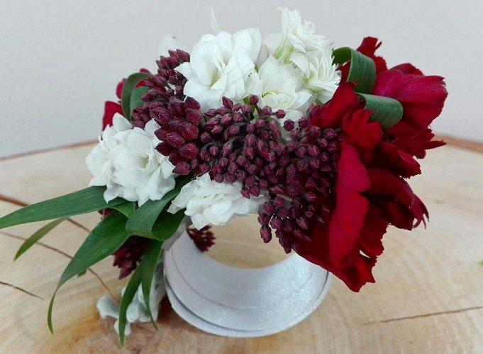 bransoletka z żywych kwiatów Częstochowa