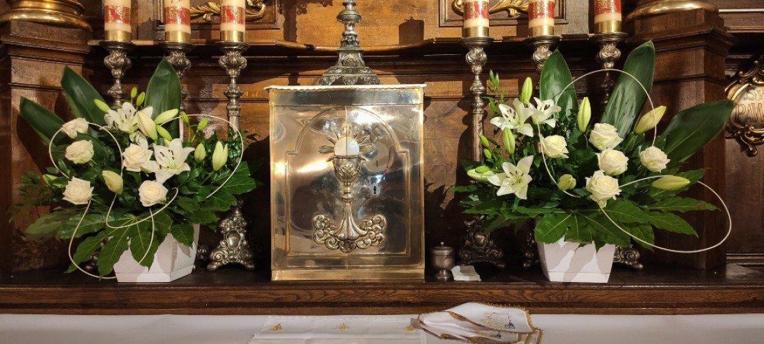 Dekoracja kościoła w Janowie