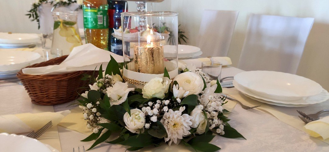 dekorowanie sali na przyjęcia