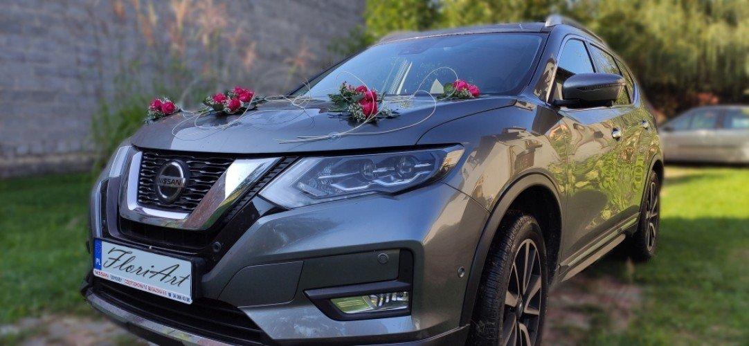dekoracje samochodu na ślub