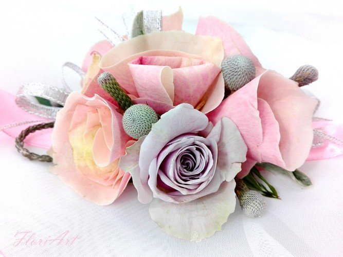 bransoletka FloriArt Pracownia florystyczna