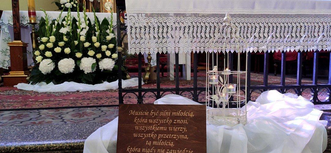 dekoracje ślubne Przyrów