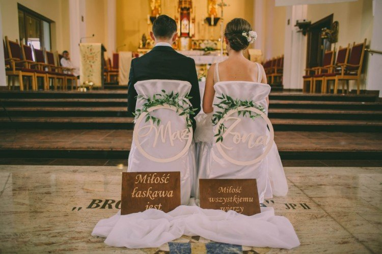 dekoracje ślubne parafia Podwyższenia Krzyża Świętego Częstochowa