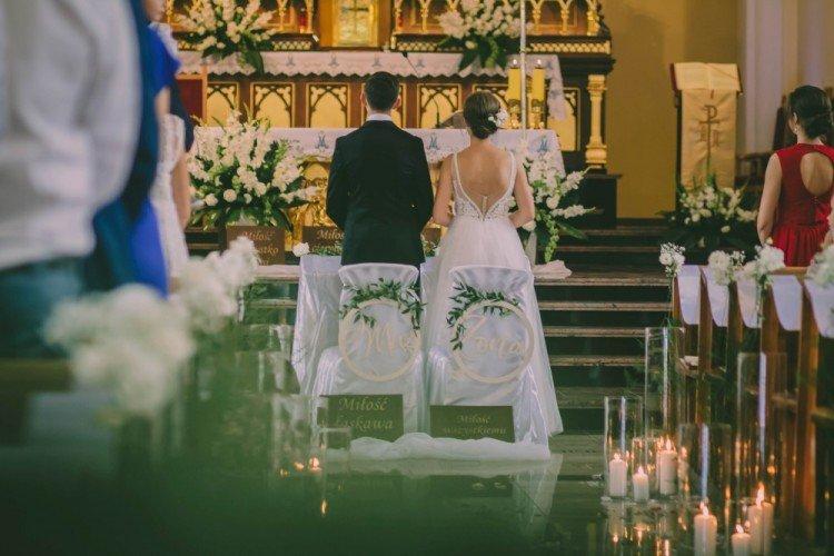 Kwiaty na ślub parafia Podwyższenia Krzyża Świętego Częstochowa